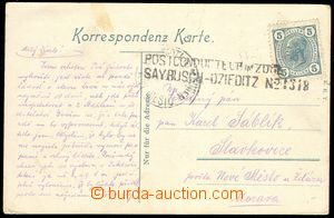 74484 - 1902 postcard Bielitz with postmark POSTCONDUCTER in zuge, S