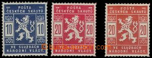 74568 - 1918 Pof.SK1-2 + PLATE PROOF stamps 20h in/at rumělkové co