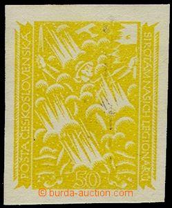 74580 - 1919 návrh prof.J.Bendy, 2. soutěž, hodnota 50h, Legioná