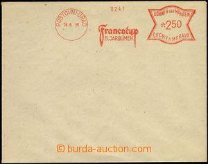 74630 - 1939 bianko obálka s OVS fy Jarolímek, místo domicilu PO�