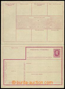 74693 - 1939 CPV1, Výběrka 80h červená, celá neoddělená, v pe