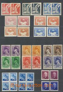 74772 - 1945-49 Pof.353-59, 375, 381-86, 413-28, 465-66, 507,  selec