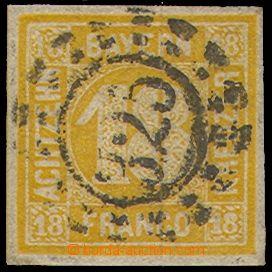 74819 - 1850 Mi.7, 18Kr, pěkný kus, zk. Sem, kat. 240€