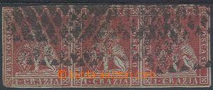 74857 - 1851 Mi.4, vodorovná 3-páska(!), kat. Seassone 900€, kat. 51