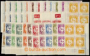 75099 - 1941 Pof.SL1-12, I.vydání, levé + pravé dolní rohové 4