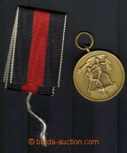 75110 - 1938 GERMANY / GERMAN REICH  medal 1. oktober 1938, red-blac