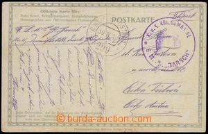 75185 - 1917 S.M.Pb BARSCH K.u.K.. Navy, Danube Flotilla,  round vio