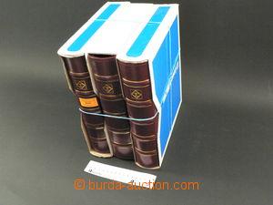 75187 -  3ks zásobníků Leuchtturm, 4-kroužkové, koženková vaz