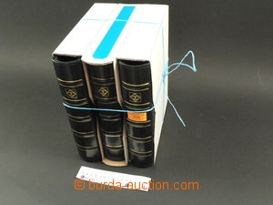 75194 -  3ks zásobníků Leuchtturm, 4-kroužkové, koženková vaz