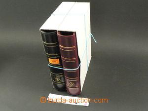 75198 -  2ks zásobníků Leuchtturm, 4-kroužkové, koženková vaz