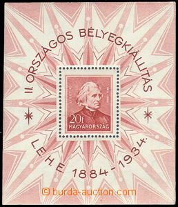 75209 - 1934 Mi.Bl.1, kat. 170€