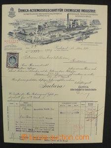 75216 - 1914 S.M.Patrouillenboot H, Danube Flotilla, invoice issued
