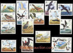 75265 - 1976 Mi.196-211, Ptáci, kat. 35€