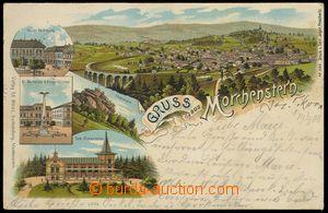75302 - 1901 SMRŽOVKA (Morchenstern) - litografická koláž; DA, p