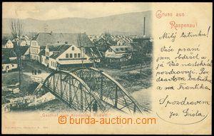 75305 - 1900 RASPENAVA (Raspenau) - hostinec, most přes řeku; DA,