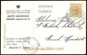 75313 - 1907 Maxa B53, postcard as printed matter, with Franz Joseph