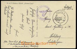 75334 - 1940 KOMMANDO 1. UNTERSEEBOOTSLEHRSTACION služební raz. na