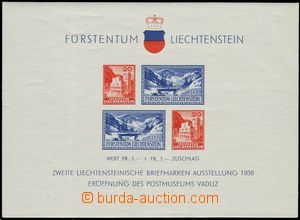 75336 - 1936 Mi.Bl.2, miniature sheet Opening of Postal Museum, good