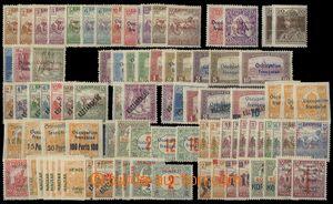 75383 - 1919 ARAD sestava 80ks zn. s přetiskem Occupation francicais