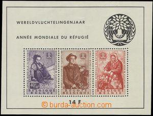 75450 - 1960 Mi.Bl.26 (Mi.1185-1187) Uprchlíci, svěží, kat. 75€
