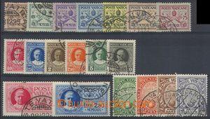 75459 - 1929-33 Mi.1-15, 17-20, kat. 150€