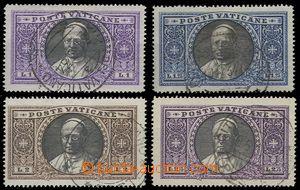 75461 - 1933 Mi.30-33, Pius XI., kat. 100€