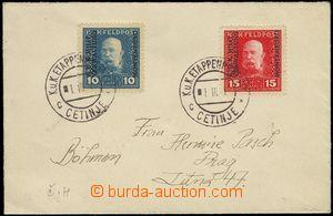 75484 - 1917 filatelisticky motivovaný dopis FP zaslaný do Prahy,