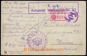 75528 - 1916 K.u.K.. Car Werkstate No.57, Automobilní convoy - Turk