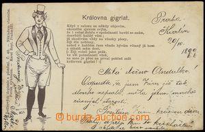 75537 - 1899 Joseph Šváb No. 45, text song Queen gigrlat, long add
