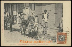 75595 - 1907 DOMINICAN REPUBLIC / Puerto Plata - people in the stree