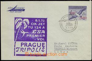75633 - 1972 CAE7, Volavka, adresováno do Libye, přepraveno první