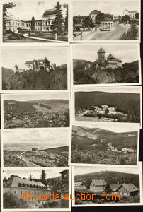 75682 - 1952 CPH12/1-24, Landscape, c.v.. 1250CZK, some pieces with