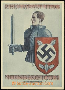 75740 - 1934 Reichsparteitag der NSDAP, 1934, Nürnberg; Wehrmann se