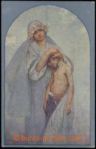 75747 - 1918 MUCHA Alfons (1860–1939), Bohemian Heart Charity (Wei