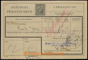 75787 - 1939 CPA1A, 1. part, CDS LIPNÍK N. B. 12.I.39, adversely fo