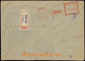 75894 - 1953 R dopis vyfr. otiskem OVS firmy Metrans, PRAHA 1/ 16.6.