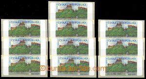 75913 - 2000 AT1 Veveří (castle), complete set 10 pcs of with *, iss