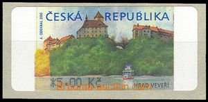 75918 - 2000 AT1 Veveří (castle), variant II., with *,  production f