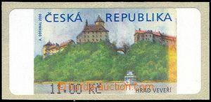 75922 - 2000 AT1 Veveří (castle), variant I., without *, value 11,00