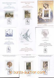 75981 - 1997-2006 AČP4-13 Public inquiry Czech post, 10 pcs of, ever