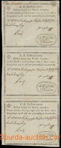 76000 - 1802 AUSTRIA  třídílný ticket class lottery, in good con