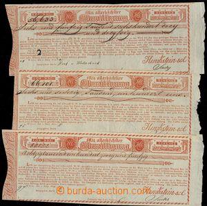 76004 - 1819 AUSTRIA  comp. 3 pcs of tickets, good condition