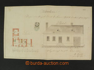 76012 - 1867 technical documentation to/at building house No.45 in/a