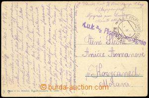 76130 - 1916 K.u.K. EPA NJEGUSI (Montenegro), pohlednice z Tirany za