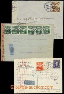 76160 - 1941-43 sestava 6ks Let-celistvostí vyfr. leteckými zn., z