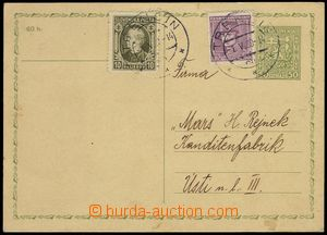 76220 - 1939 čs. dopisnice CDV65, 50h Znak, zaslaná do Protektorá
