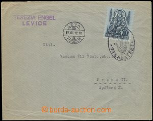 76229 - 1938 letter addressed to to Prague, with 40f, Mi.562, CDS L�