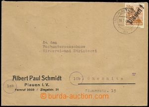76322 - 1948 SOVIET ZONE  commercial letter with Mi.174 with overpri