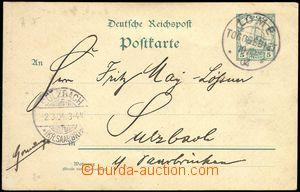 76323 - 1904 TOGO  Mi.P9, CDS LOME/ Togogebiet/ 10.2.04, addressed t