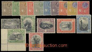 76488 - 1926 Mi.152-168, výplatní, kat. 400€